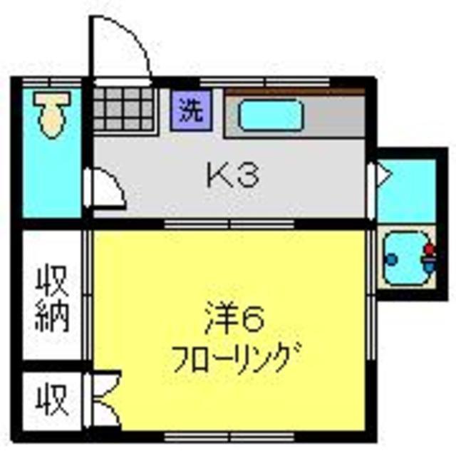 恵荘間取図