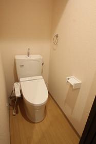 洗浄便座付トイレ!