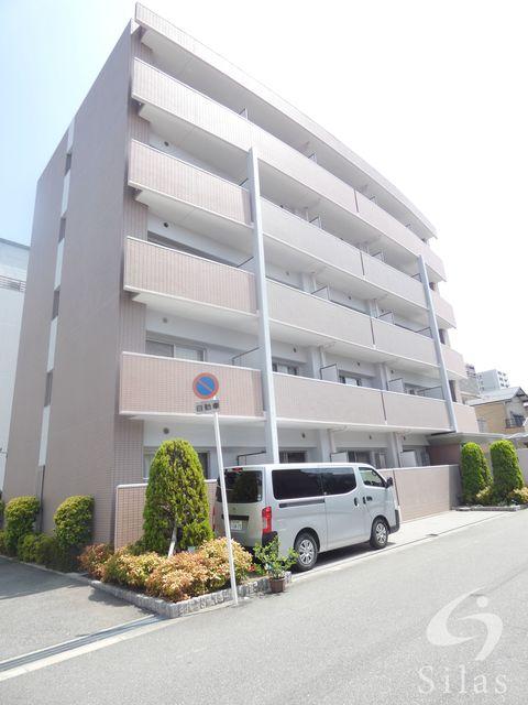 大阪市平野区西脇2丁目の賃貸マンションの外観