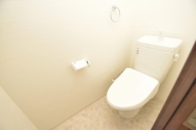 荻田第6ビル 清潔感たっぷりのトイレです。入るとホッとする、そんな空間。