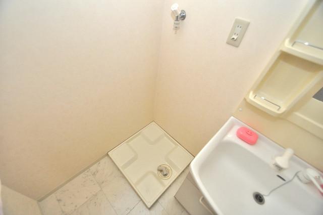 Ambition(アンビション) 洗濯機置場が室内にあると本当に助かりますよね。