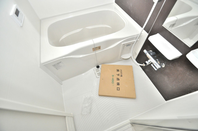 インペリアルライフ ちょうどいいサイズのお風呂です。お掃除も楽にできますよ。