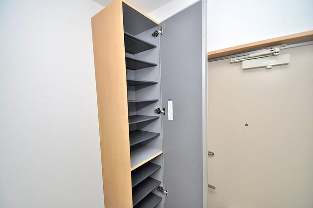 Realize長瀬 玄関には大容量のシューズボックスがありますよ。