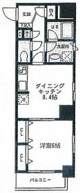 (仮称)下谷3丁目マンション5階Fの間取り画像