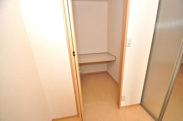 カーサ・エクレール A棟 人気のWICです。広々とお部屋が使えますね。