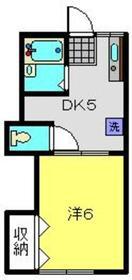 PAO72階Fの間取り画像