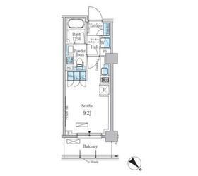 パークアクシス西巣鴨レジデンス2階Fの間取り画像
