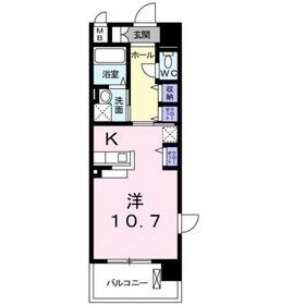 成増駅 徒歩6分3階Fの間取り画像