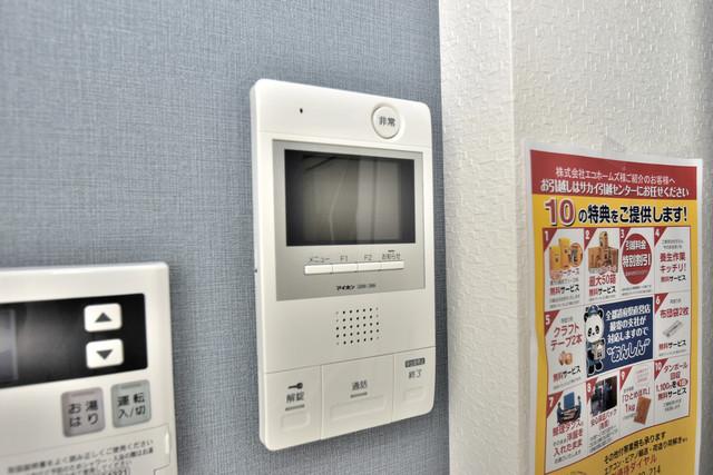 あんしん+衣摺(北棟) TVモニターホンは必須ですね。扉は誰か確認してから開けて下さいね