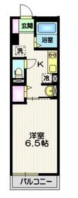 クレスト湘南1階Fの間取り画像
