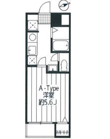 ユーコート中野2階Fの間取り画像