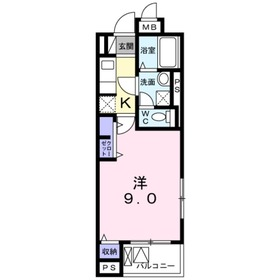 Alta ponto浦和3階Fの間取り画像