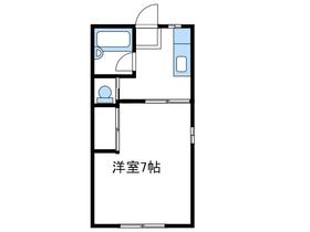 メゾンアルタイル1階Fの間取り画像