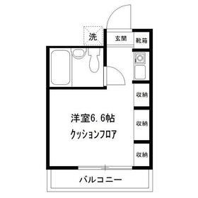 向ヶ丘遊園駅 徒歩19分3階Fの間取り画像