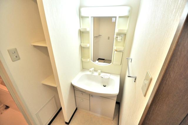 コレンテ 人気の独立洗面所はゆったりと余裕のある広さです。