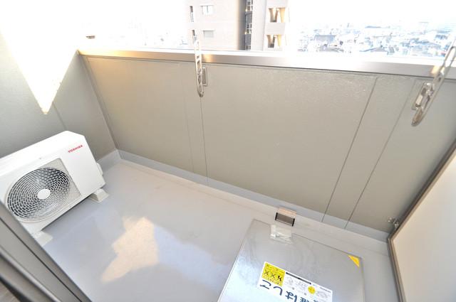 みおつくし布施 洗濯物がたくさん干せる大きなバルコニーです。