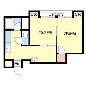 エル・アルカサル元浅草4階Fの間取り画像