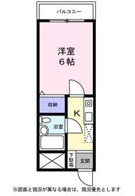 アメニティ山本3階Fの間取り画像