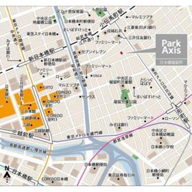 パークアクシス日本橋堀留町案内図