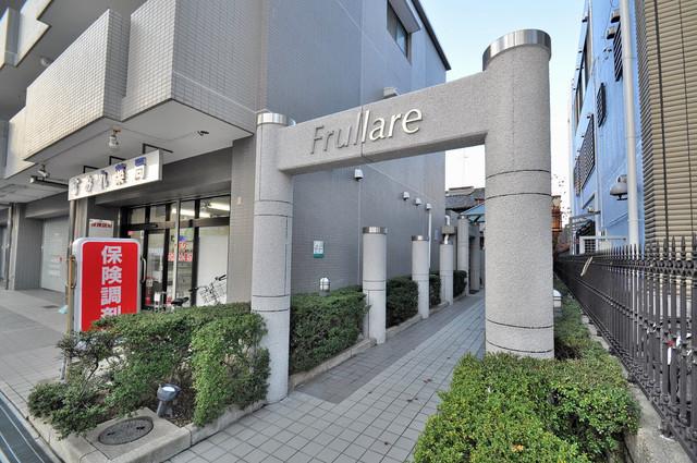 フルラーレ 高級感のある入口周辺。友達に自慢したくなりますね~