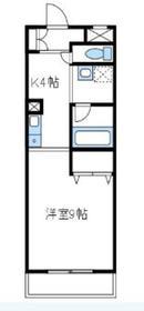 パークライフ2階Fの間取り画像