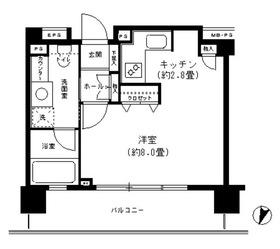 クリオ文京小石川6階Fの間取り画像