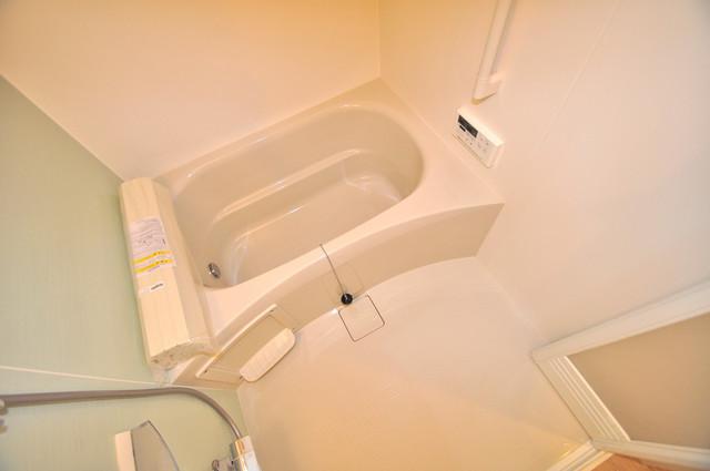 エイチ・ツーオー布施 足が伸ばせる広い浴槽はナイスですね!