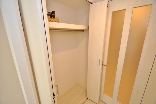 グランエクラ田島 コンパクトながら収納スペースもちゃんとありますよ。