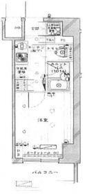 川崎駅 徒歩14分10階Fの間取り画像