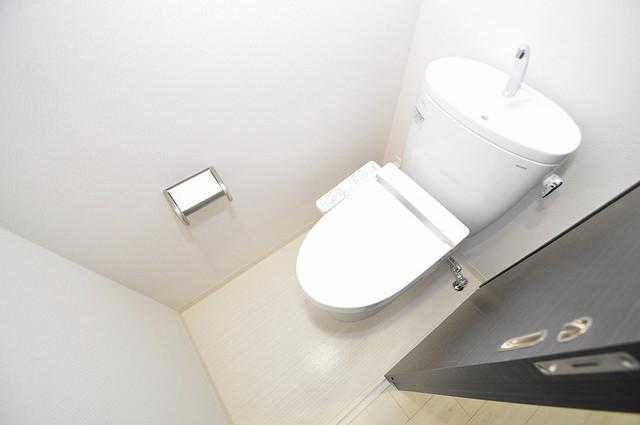 Forest Grace 深江橋Ⅱ 清潔感のある爽やかなトイレ。誰もがリラックスできる空間です。