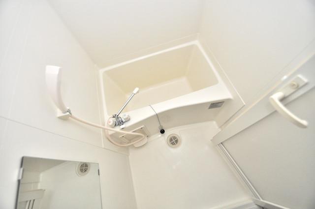 エスティームⅠ番館 機能的なバスルームはトイレと別々なので、広々としていますよ。