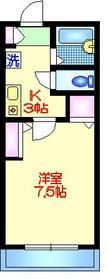 アモーレ3階Fの間取り画像