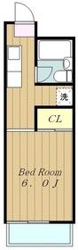 郷田ビル2階Fの間取り画像