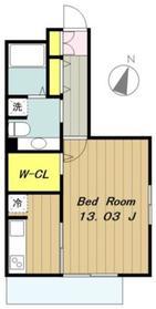 ウィステリア2階Fの間取り画像