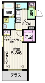 旭化成 HEBEL MANSION URAWA1階Fの間取り画像