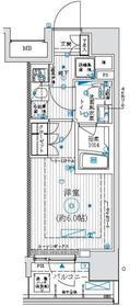 アーリアシティ川崎13階Fの間取り画像