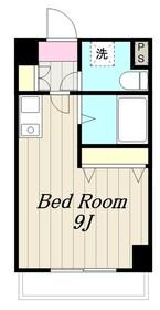 ウイング(みなみ野3)2階Fの間取り画像