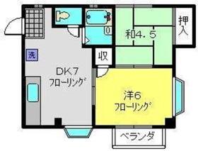 ハマポート3階Fの間取り画像