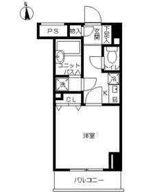 スカイコート本郷東大前壱番館8階Fの間取り画像