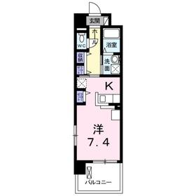 レギオン2階Fの間取り画像