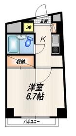 ソード・K4階Fの間取り画像