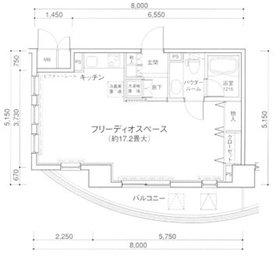 MG目黒駅前10階Fの間取り画像