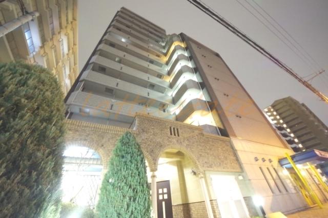 大阪市城東区今福東1丁目の賃貸マンションの外観