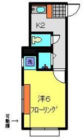 クリオ上大岡六番館1階Fの間取り画像