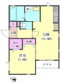 Duo Wakaba West 105号室
