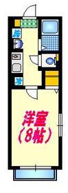 レグナム21階Fの間取り画像