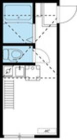メゾンフィエール横浜2階Fの間取り画像
