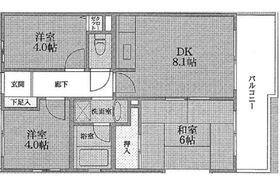 サンヒルズヨコハマⅡ2階Fの間取り画像