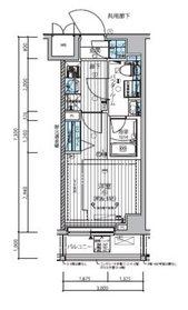 メインステージ武蔵小杉3階Fの間取り画像