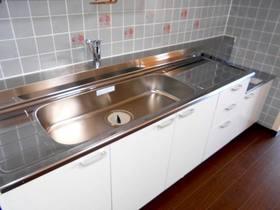大き目のシンクで使いやすいキッチン